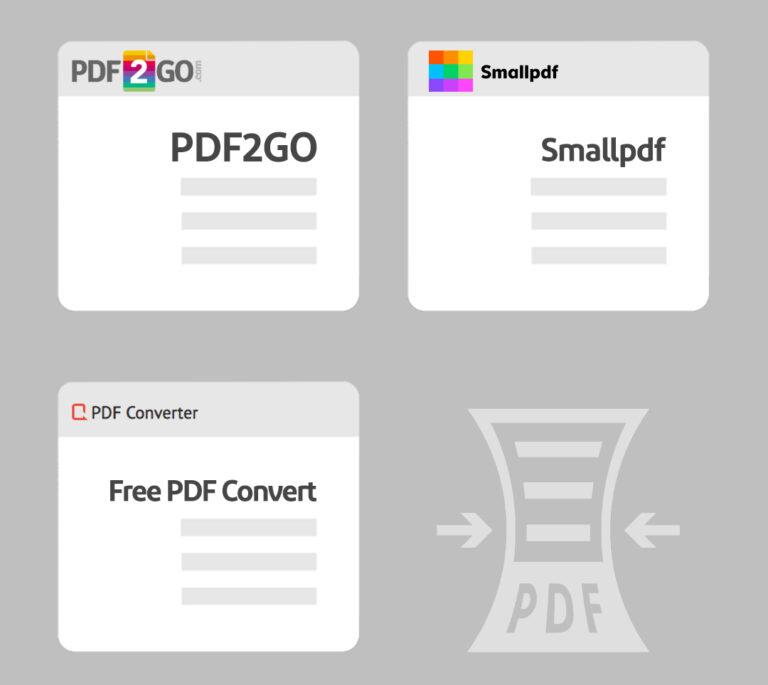 آنلاین فشرده سازی pdf